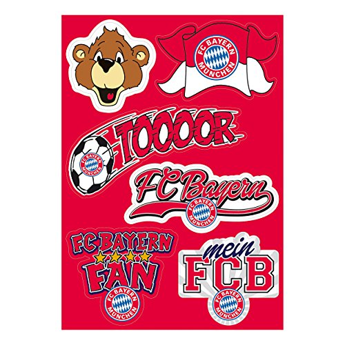 FC Bayern München kinderstickerkaart gratis sticker München Forever, stickers, stickers, Etiqueta engomada/autocollant