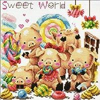 クロスステッチ刺繍キットSweet World-110301