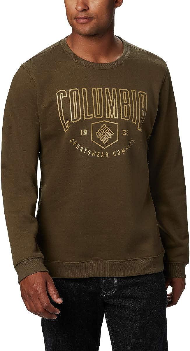 Columbia mens Hart Mountain Graphic Crew