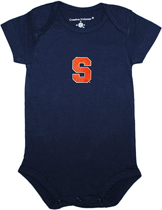 Creative Knitwear Syracuse University 'Cuse Baby Bodysuit