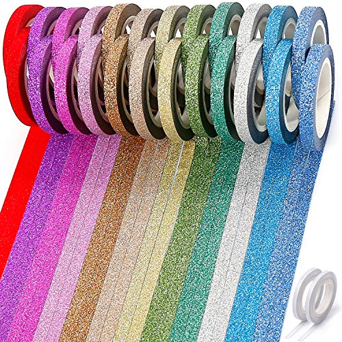 Thin Washi Tape, Glitter