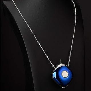 TLJX Purificador de Aire Portatil, Mini Collar Limpiador de Aire Captura Alergia Polvo Humo Caspa de Mascotas USB Recargab...
