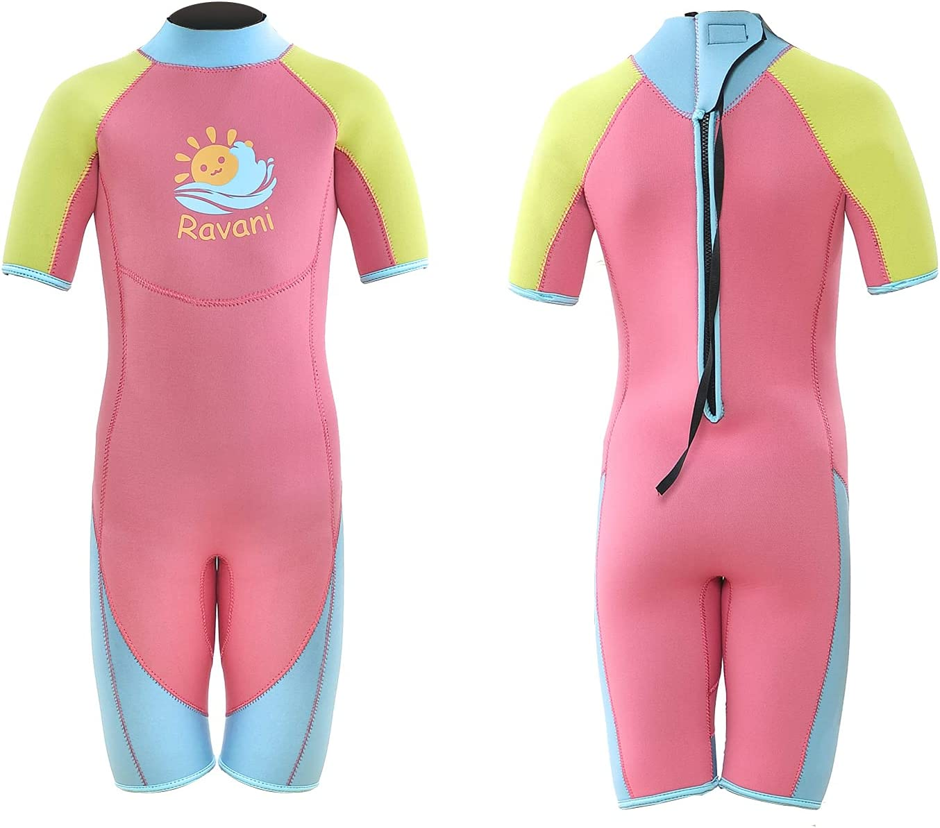 Ravani 5mm Max 64% OFF Kids Wetsuit Boys Girl New Orleans Mall Shorty Youth and
