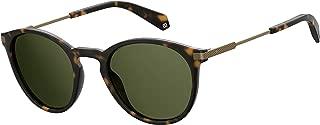Polaroid Polarized Round Unisex Sunglasses - (PLD 2062/S N9P 50UC 50 Green Color)