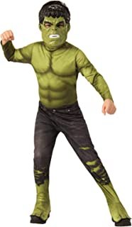 Rubie's Avengers Endgame - Hulk Child Costume, Size 3-5 Yrs