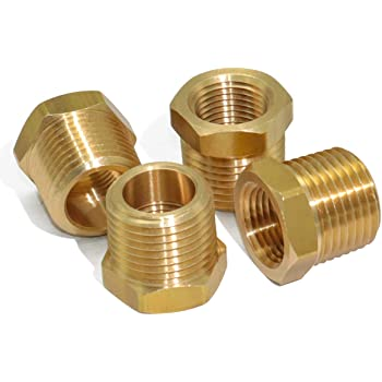"""Brass 1//8/"""" 1//4/"""" 3//8/"""" 1//2/"""" Lengthen Male Thread Connector Joiner Fitting Adapter"""