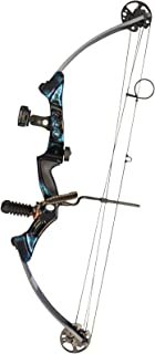 Southland Archery Supply SAS Primal 35-50 lbs Target Compound Bow 40 1/2 ATA with Red Riser and Carbon Limbs