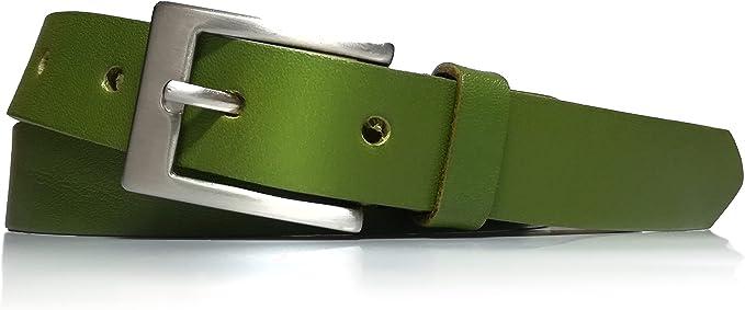 24 opinioni per almela- Cintura Donna- Pelle di vacchetta stretta- Larghezza 2,5 cm- Fine-