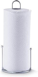 Zeller 2057655 Porte-Rouleau d'Essuie-Tout + 1 essuie-tout 13,5 x 30 cm