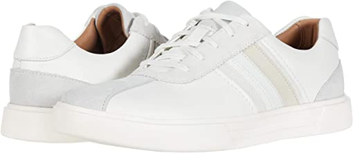 White Leather/Suede Combi