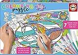 Educa - Colouring Puzzle de 150 Piezas, Puzzle Infantil para Colorear de Vida Bajo el Mar, a Partir de 6 años (17827)