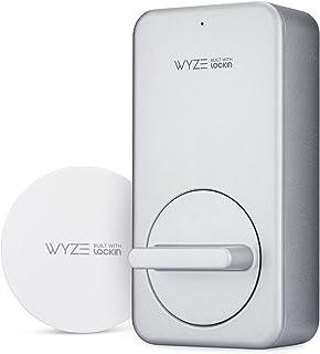Wyze Lock WLCKG1 WiFi و بلوتوث دارای قابلیت قفل هوشمند ، ورودی درب بدون کلید ، متناسب با بیشترین دنده ها ، شامل Wyze Gateway (توپی)