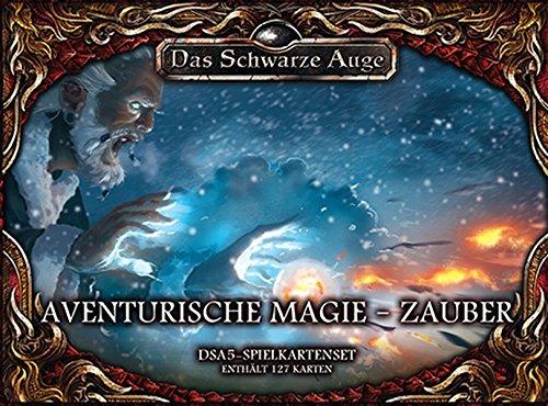 DSA5 Spielkartenset Aventurische Magie - Zauber (Das Schwarze Auge - Zubehör)