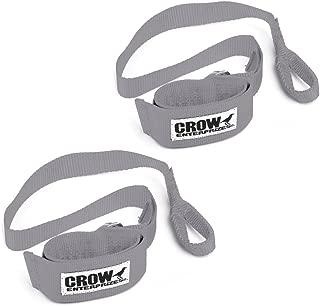 11666 Grey Crow Wrist Restraints Sand Car UTV Polaris RZR XP900 Can-Am Maverick