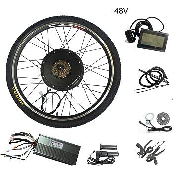 WENHU 29 Pulgadas 48v 1500w-batería eléctrica de Bicicleta Juego ...