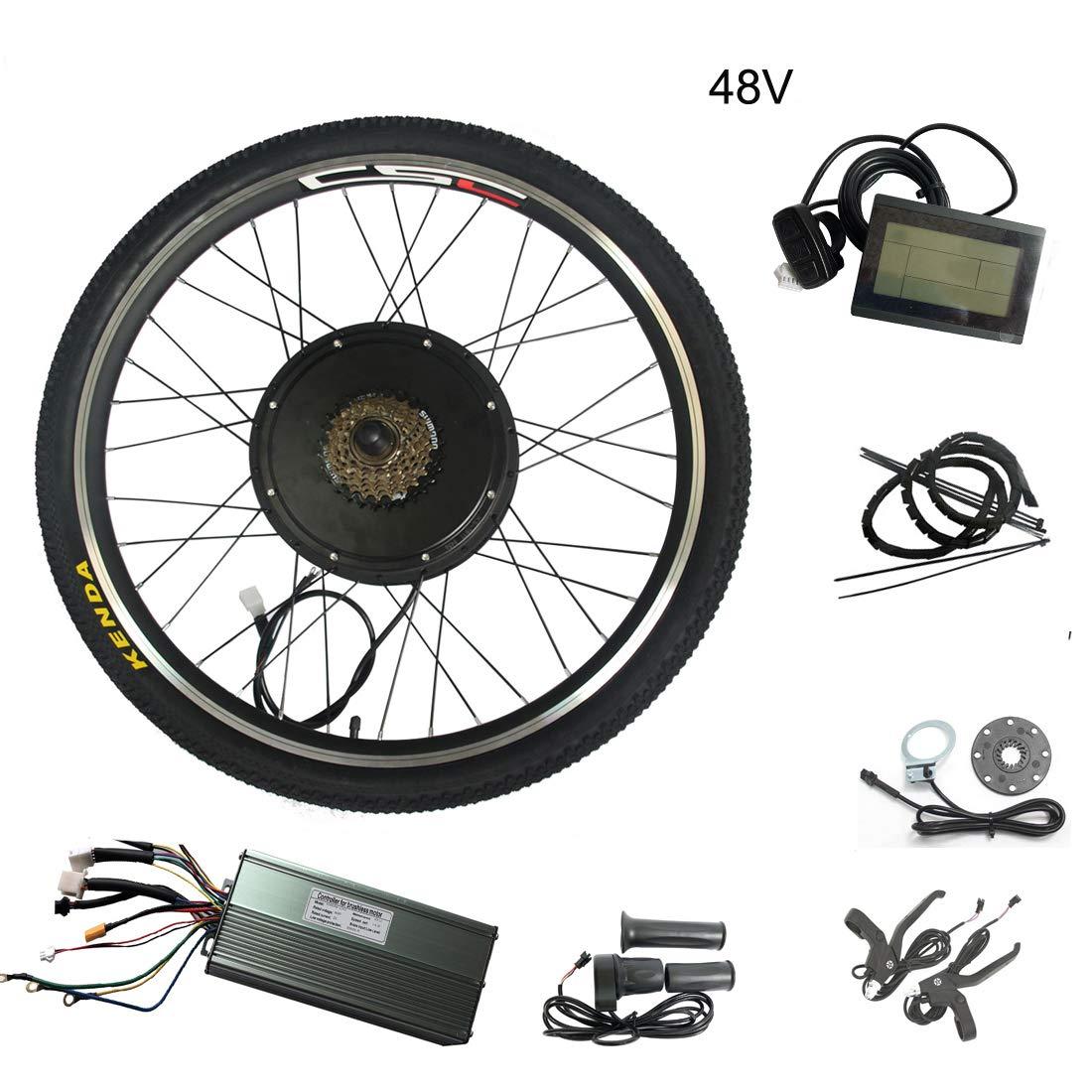 Guoz 20 Pulgadas 48v 1000w-bicicleta eléctrica Batería Bicicleta ...