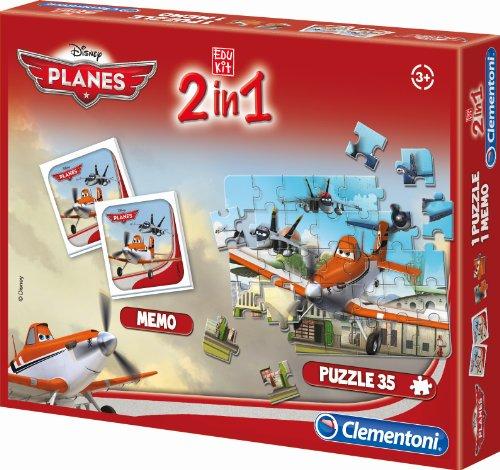 Clementoni - 13857.9 - Malette de jeu - Planes - 2 en 1