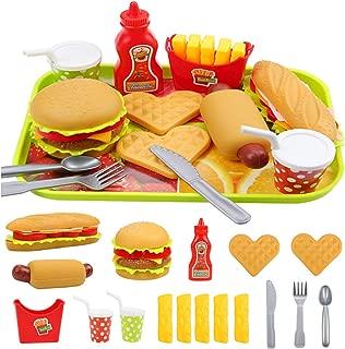 Best burger toy set Reviews
