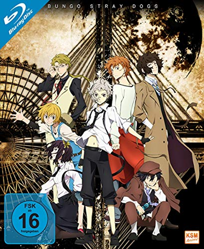 Bungo Stray Dogs - Staffel 1 [Blu-ray]