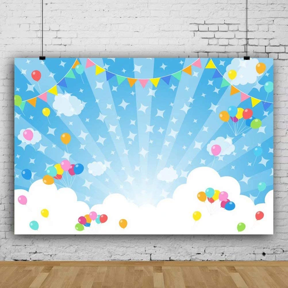 7x7FT Vinyl Photography Backdrop,Abstract,Butterflies Floral Photo Background for Photo Booth Studio Props