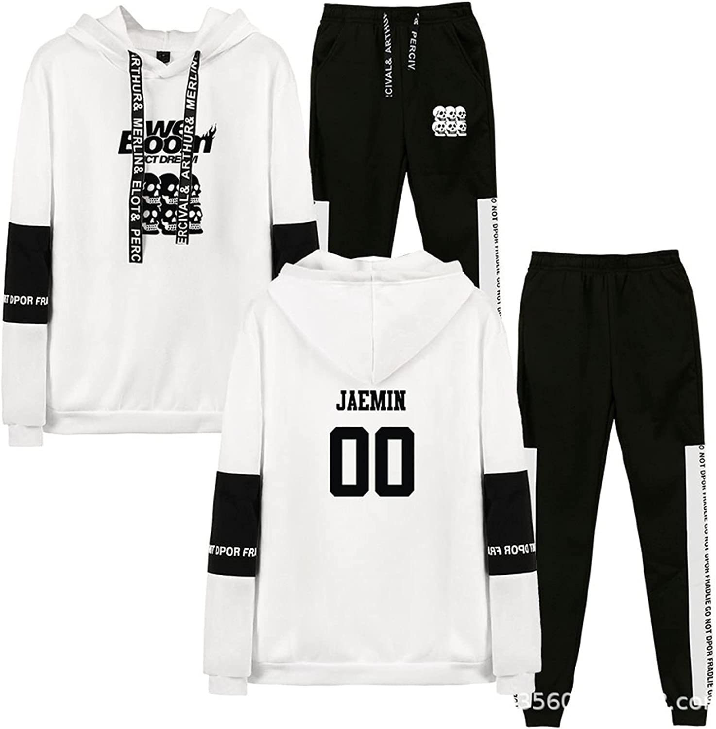 NCT DREAM Merchandise We Boom Members Popular popular High material All Sportswear Suit White