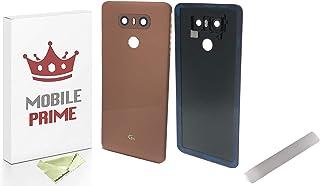 MOBILEPRIME استبدال البطارية الخلفية الزجاج الزجاج الخلفي حزمة إصلاح الغطاء الخلفي متوافق مع LG G6 H870 H871 H872 H873 LS9...