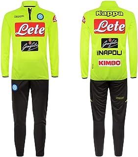 Survêtement Junior dentraînement SSC Napoli 2018/19: Amazon.es ...
