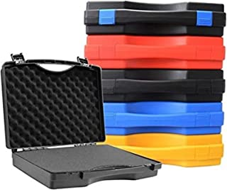 Protective Safety Box Toolbox Equipment Instrument Box Hardware Tool Box Camera Case with Pre-cut Foam Lining 340x270x80mm...