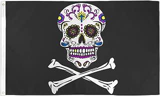Best Flags Sugar Skull 3x5ft Poly Seasonal Flag Multi