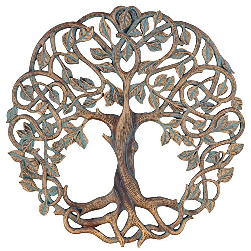15' Tree of Life Wall Plaque Decorative Celtic Garden Art Sculpture - Large Version