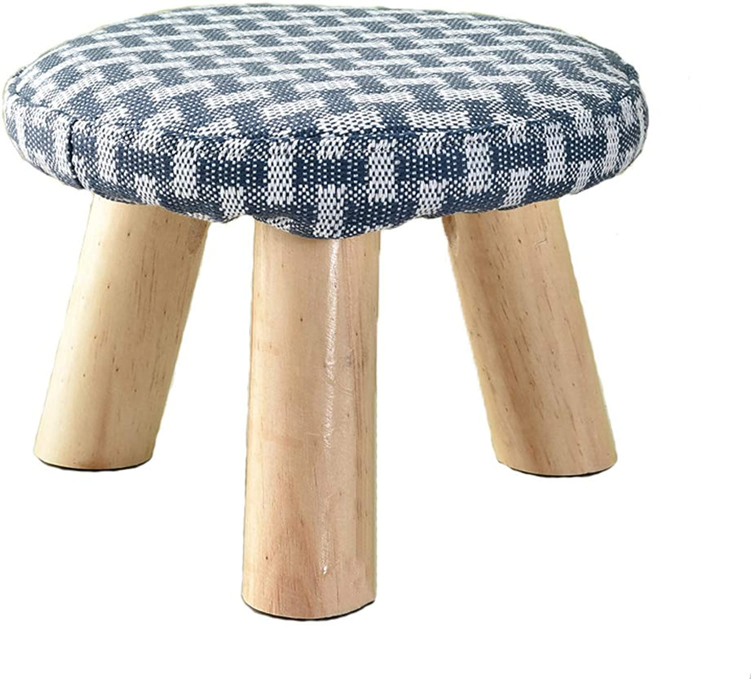 HLJ Creative Adult Small Bench Modern Minimalist Small Round Stool Personality Fashion Home Small Bench