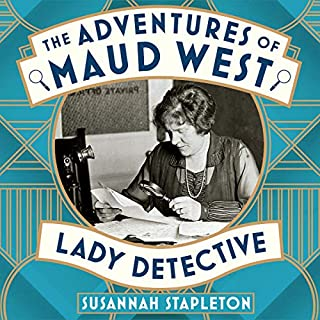 The Adventures of Maud West, Lady Detective cover art
