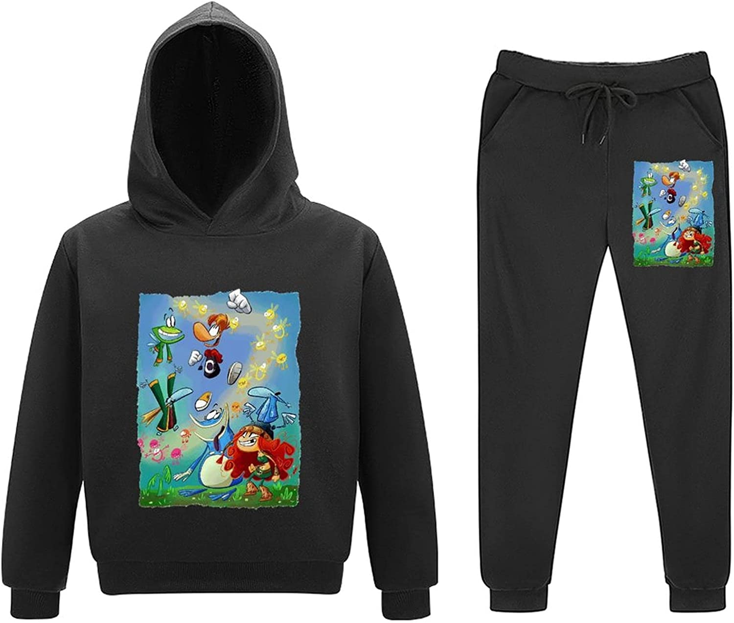 Ray-Man OFFer Discount mail order Leg-Ends Little Kids Outfits Sweatsuits Pullover Piece 2