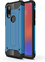 LuckyMi Case for Motorola One Vision Phone,Moto One Vision Case,Motorola P40 Case,TPU & Hard PC Hybrid Cover Dual Layer Armor Grip Anti-Scratch Protective Case for Motorola One Vision Smartphone