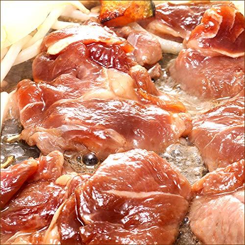 ラム肉 ジンギスカン 味付きジンギスカン 1kg×5袋 (塩味/冷凍品) 業務用 羊肉 BBQ 北海道 じんぎすかん 千歳ラム工房 肉の山本