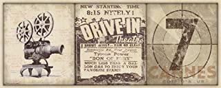 Drive-in 20x8 Movie & Film Art Print Decorative Home Wall Poster