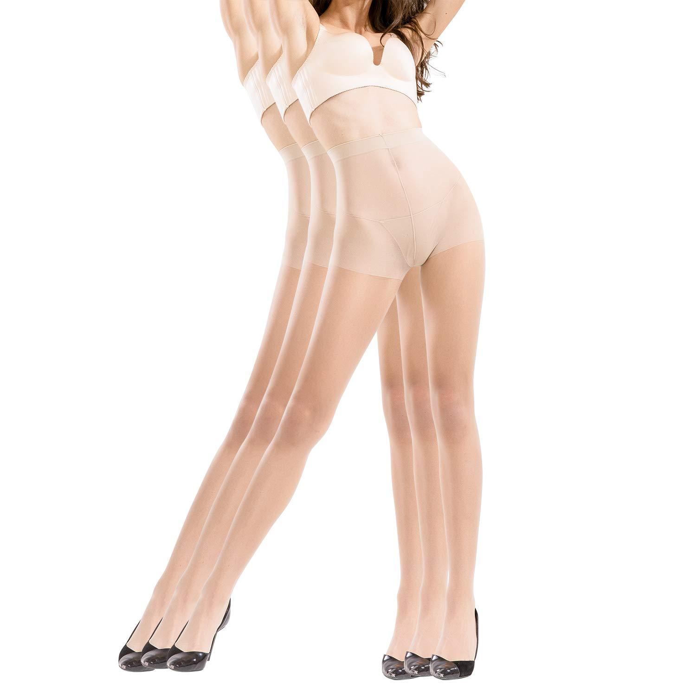 BONAS Pantyhose 3pairs Reflections Microfiber