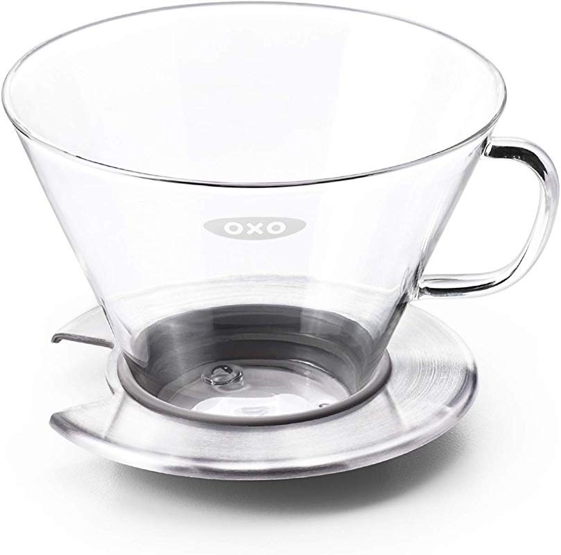 OXO BREW Glass Pour Over Coffee Dripper