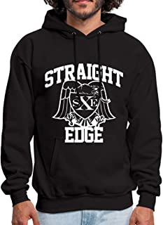 Spreadshirt Straight Edge Men's Hoodie