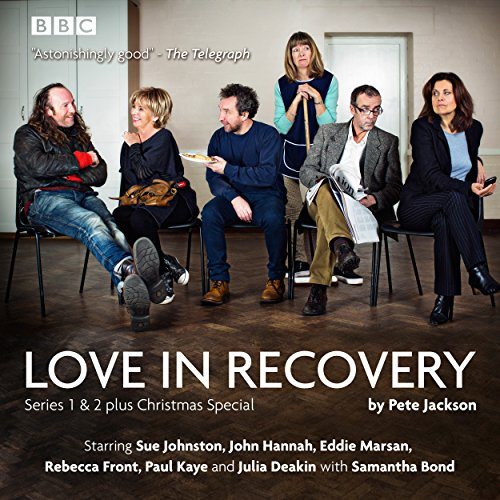 Love in Recovery: Series 1 & 2     The BBC Radio 4 comedy drama              De :                                                                                                                                 Pete Jackson                               Lu par :                                                                                                                                 Sue Johnston,                                                                                        John Hannah,                                                                                        Eddie Marsan,                   and others                 Durée : 4 h et 40 min     Pas de notations     Global 0,0