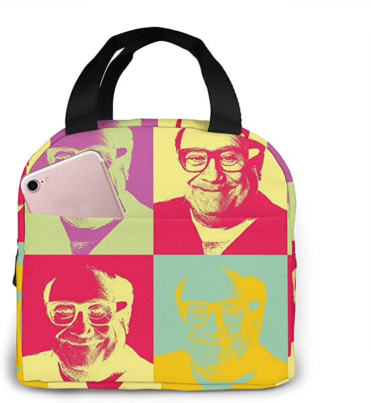 Danny Devito Lunch Bag HSicily Insulated Durable Lunch Box Tote Bag Cooler Bag Lunch Bag For Work School Picnic Travel Beach