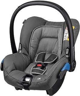 maxi cosi babyschale Maxi-Cosi Citi Babyschale, federleichter Baby-Autositz Gruppe 0 0-13 kg, nutzbar ab der Geburt bis ca. 12 Monate, Concrete Grey grau