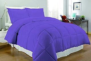 South Bay Down Alternative Comforter, Twin, Purple