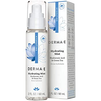DERMA-E Hydrating Face Mist with Hyaluronic Acid, 2 oz (0469)