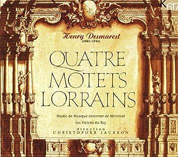 Desmarest: Quatre, Motets & Lorrains