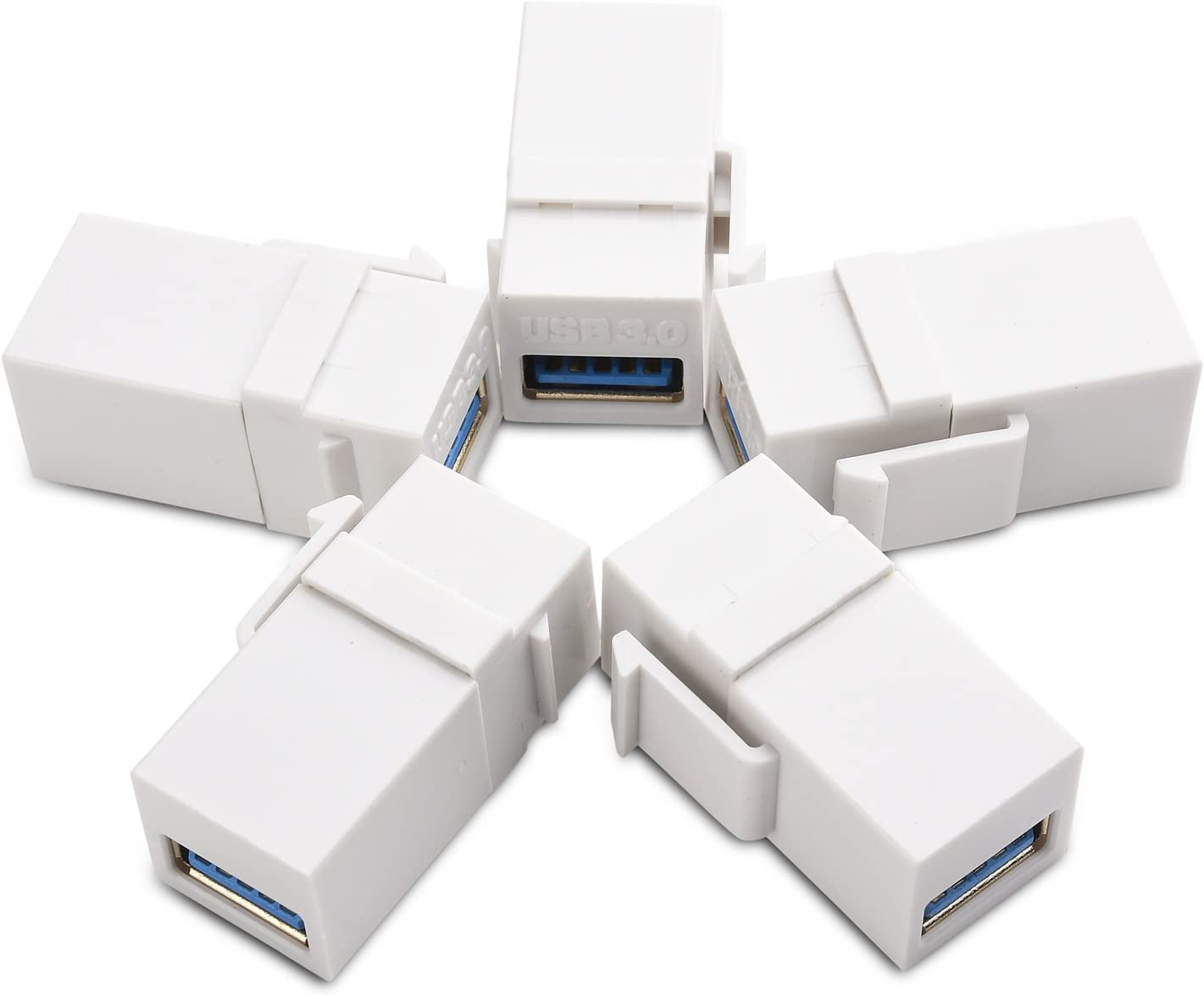 70% OFF Outlet Cable Matters 5-Pack USB 3.0 Keystone Max 42% OFF Jack Inserts Change Gender