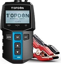 Car Battery Tester TOPDON BT100 12 Volt 100-2000CCA Battery Load Tester, Cranking and..