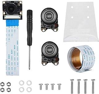 Nobrand Night Vision Camera Module Camera Lens Kit Compatible with Raspberry Pi 3B+/3B/2B/B+/Zero 1.3/Zero W