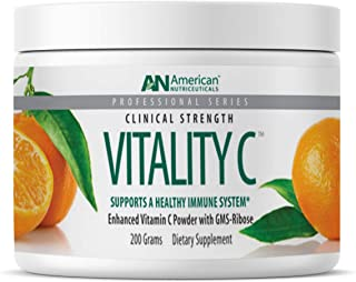 American Nutriceuticals Vitality C - 200 grams | Ultra High-Potency Vitamin C Powder Without Gastric Distress| Enhanced Ab...