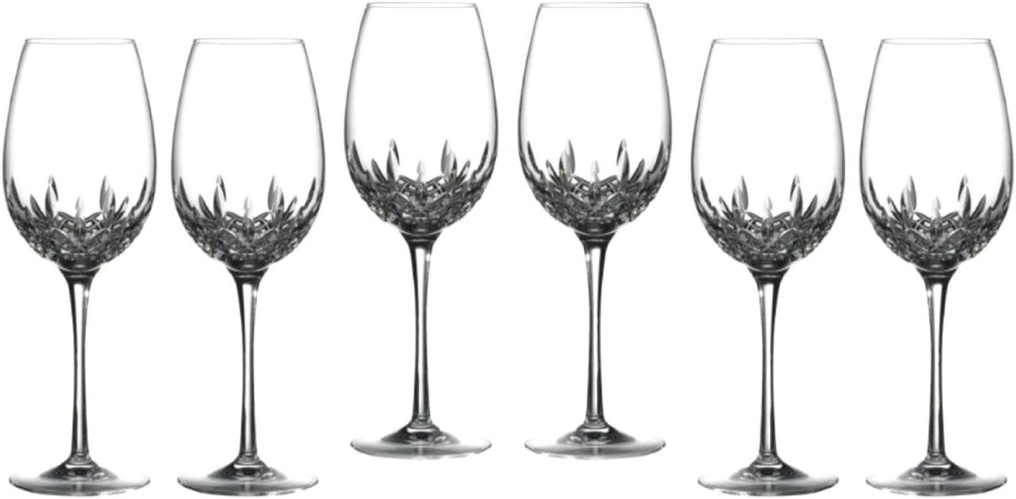 Finally popular brand Waterford Crystal Lismore Essence Goblet Deluxe Box Glasses Gift Max 87% OFF